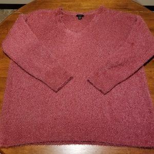 Woman's Halogen Fuzzy Sweater Size XXL